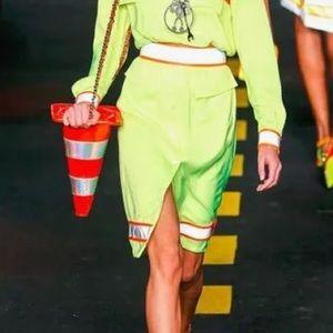 MOSCHINO Jeremy Scott Traffic Cone Shoulder Bag